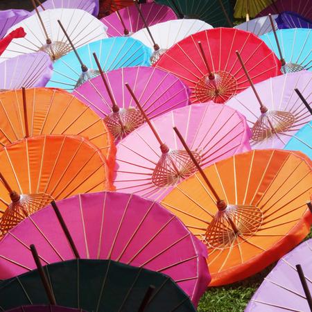 チェンマイの工芸品 『傘』