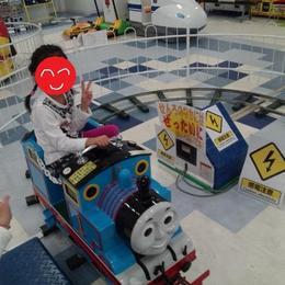 トーマスに乗りに行きました!
