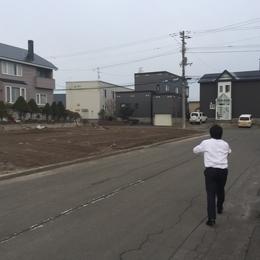 土地の現地調査☆