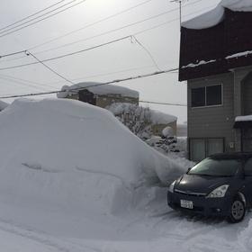 滝川市の雪☆