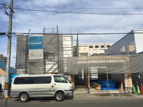 スカイハウスの最新モデルハウス工事進捗状況☆