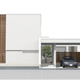 白石区・新モデルハウスのシンボルツリー