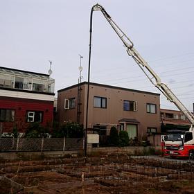 ご新築基礎工事スタート。