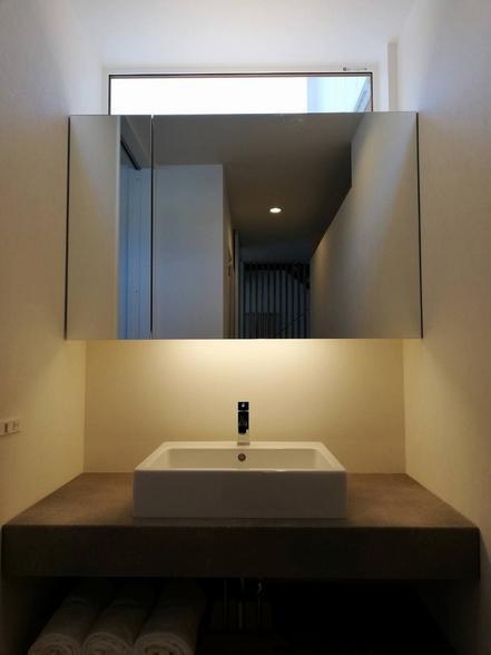 札幌市北区拓北オープンハウスの製作洗面台☆