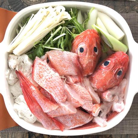北海道ならでは?の 『 きんき鍋 』