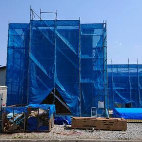 岩見沢市 新築建設中