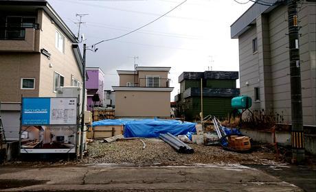札幌市手稲区にて『 タイルテラス & カーポート 』ご新築工事。(^^)/