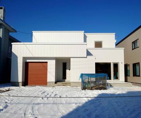 今年最初の新築完成見学会 白石区菊水元町