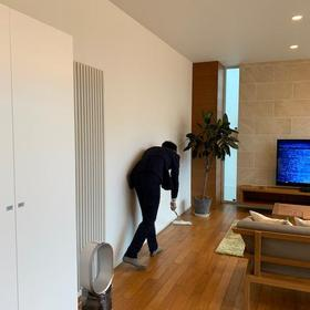 菊水モデルハウスオープン準備