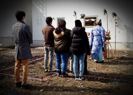 札幌市東区『 ご新築 』地鎮祭。(^^)