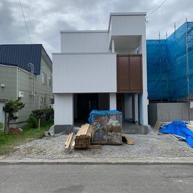 白石区 新築 ガレージハウス
