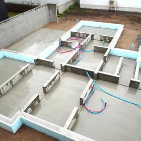 札幌市東区『 ご新築 』基礎工事完了。