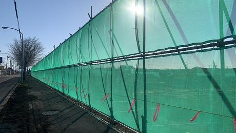 ウイズランド大麻新町の造成工事経過を見てきました。