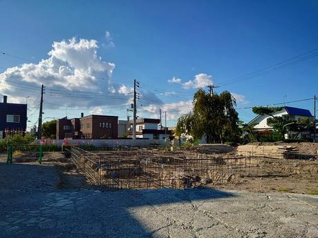 札幌市ご新築【 R様邸 】建替え2世帯住宅。